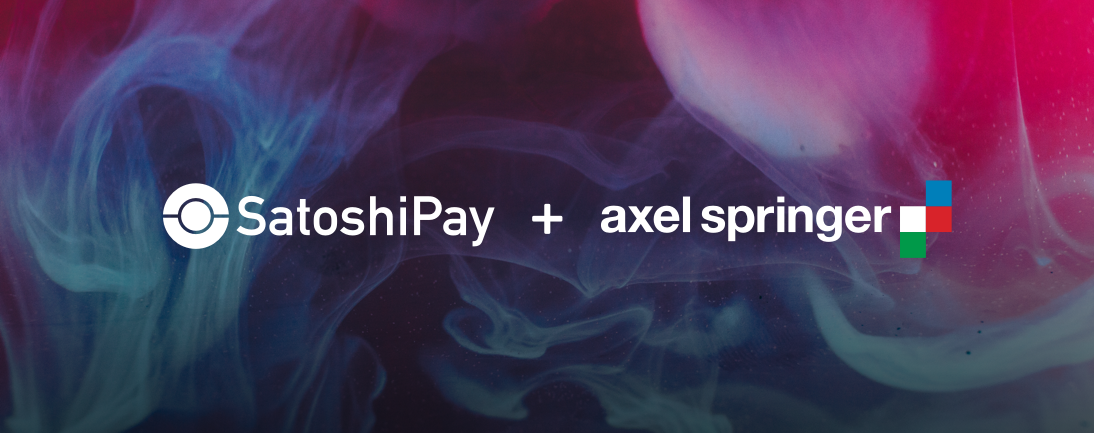 SatoshiPay and <bold>Axel</bold> Springer cooperate on blockchain technology usage