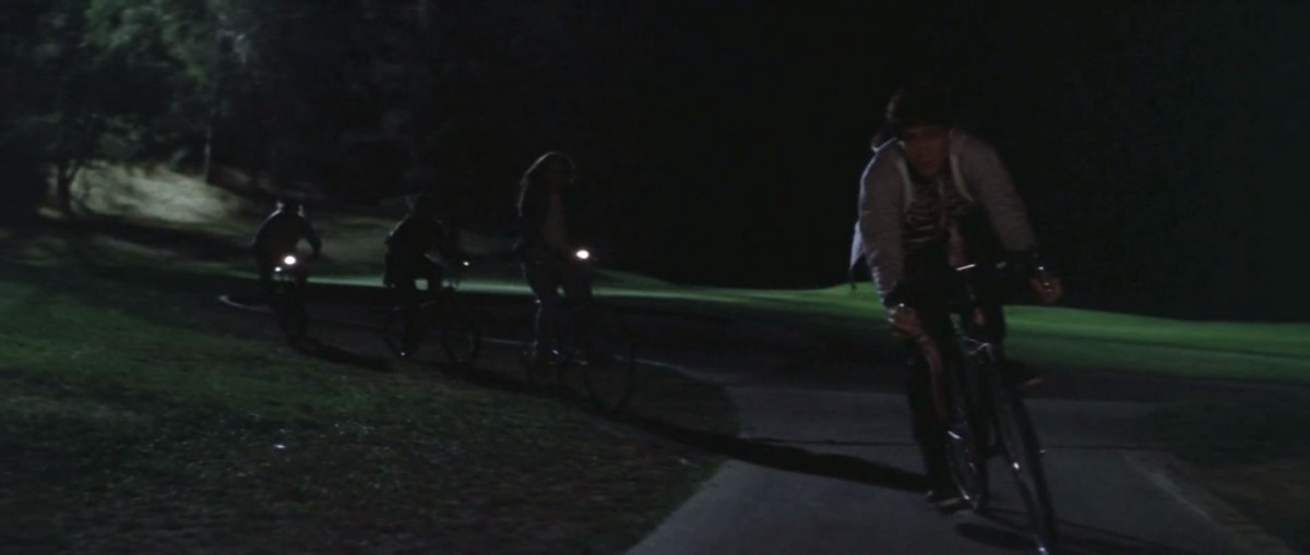 Donnie Darko Time Travel  The Human Condition  Cloud Walkers  Medium Not To Mention The Bikes Ridden At The Beginning And End Of Darko Are  Homage To Et  Donnies Is The Only Bike Without A Headlight  Representative Of