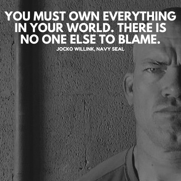 Fearful That They Will Be Seen As Lazy >> Jocko Willink Destroy Fear By Taking One Step At A Time