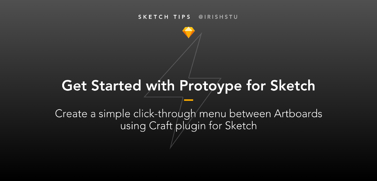 Basic Navigation with Sketch and Invision's Craft Prototype Plugin