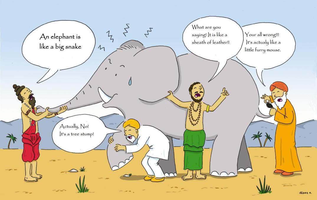 Another Way To Think About Ensemble Learning Is Fable Of Blind Men And Elephant All The Had Their Own Description