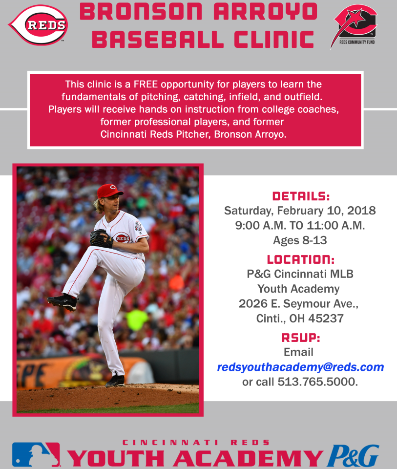 Special Events And Seminars P Amp G Cincinnati Mlb Youth Academy
