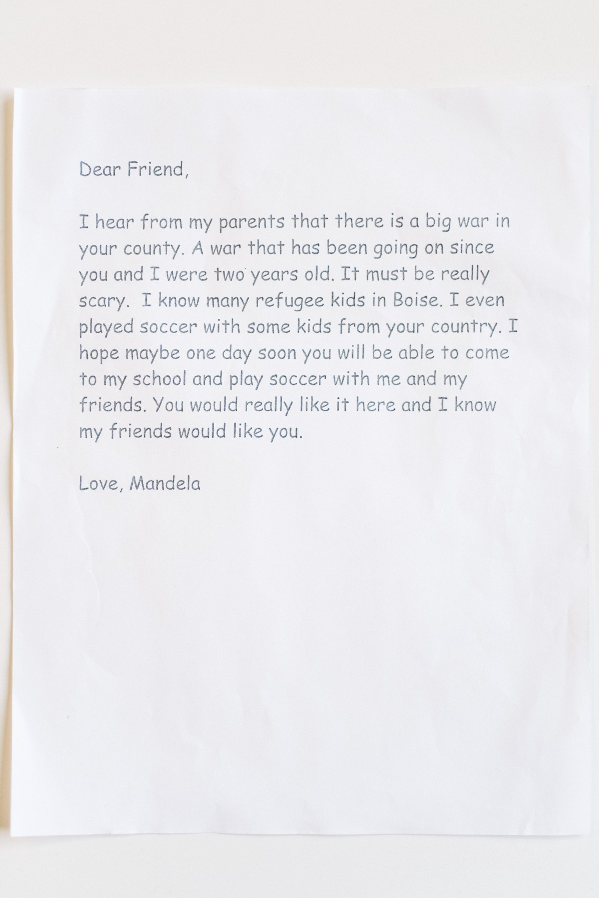 Incredible love letters