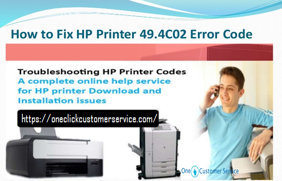 Steps to Fix HP Printer Error Code 49.4c02 \u2013 Victoria Miller \u2013 Medium
