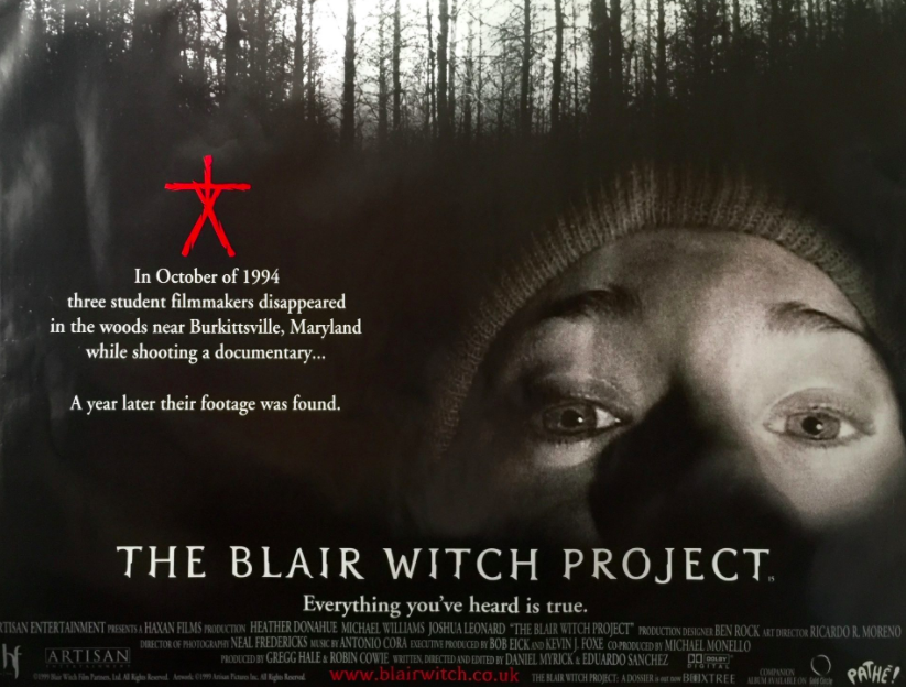 an analysis of the movie blair witch project About a decade ago, the team behind the biggest hit of the decade wrote a screenplay for the prequel it had been a long time coming in 1999, the shaky-cam horror movie the blair witch project.