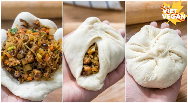 Delicious Vegan Steamed Buns Banh Bao Chay Passiondig