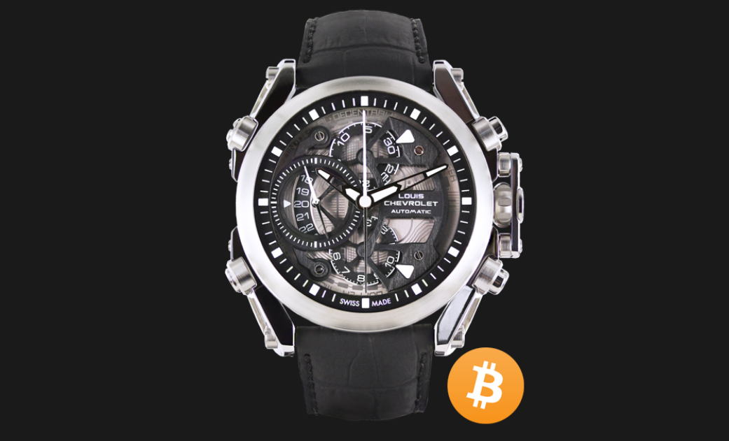 louis chevrolet watch company launches the chrono-tour bitcoin