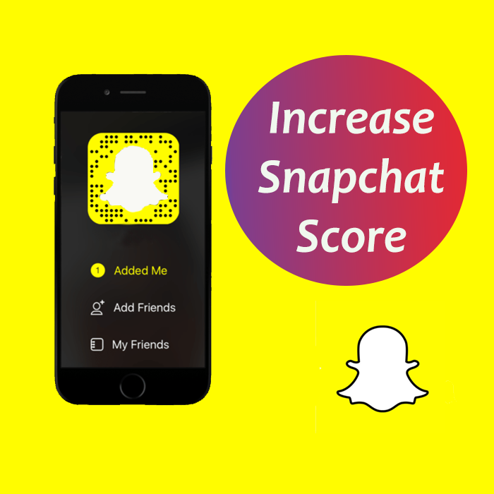 How to see my friends snapchat score