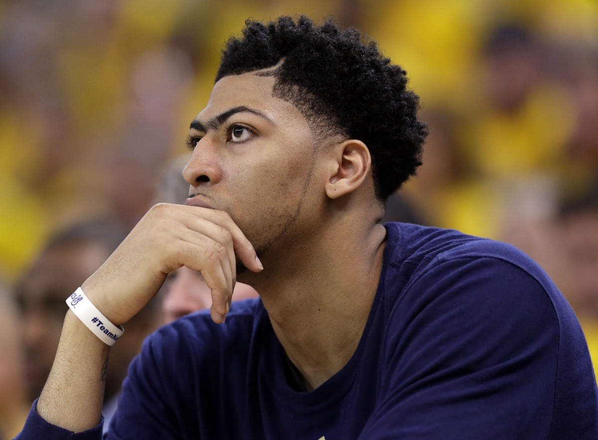 Is Anthony Davis Doomed To Become The Next Kg The Cauldron