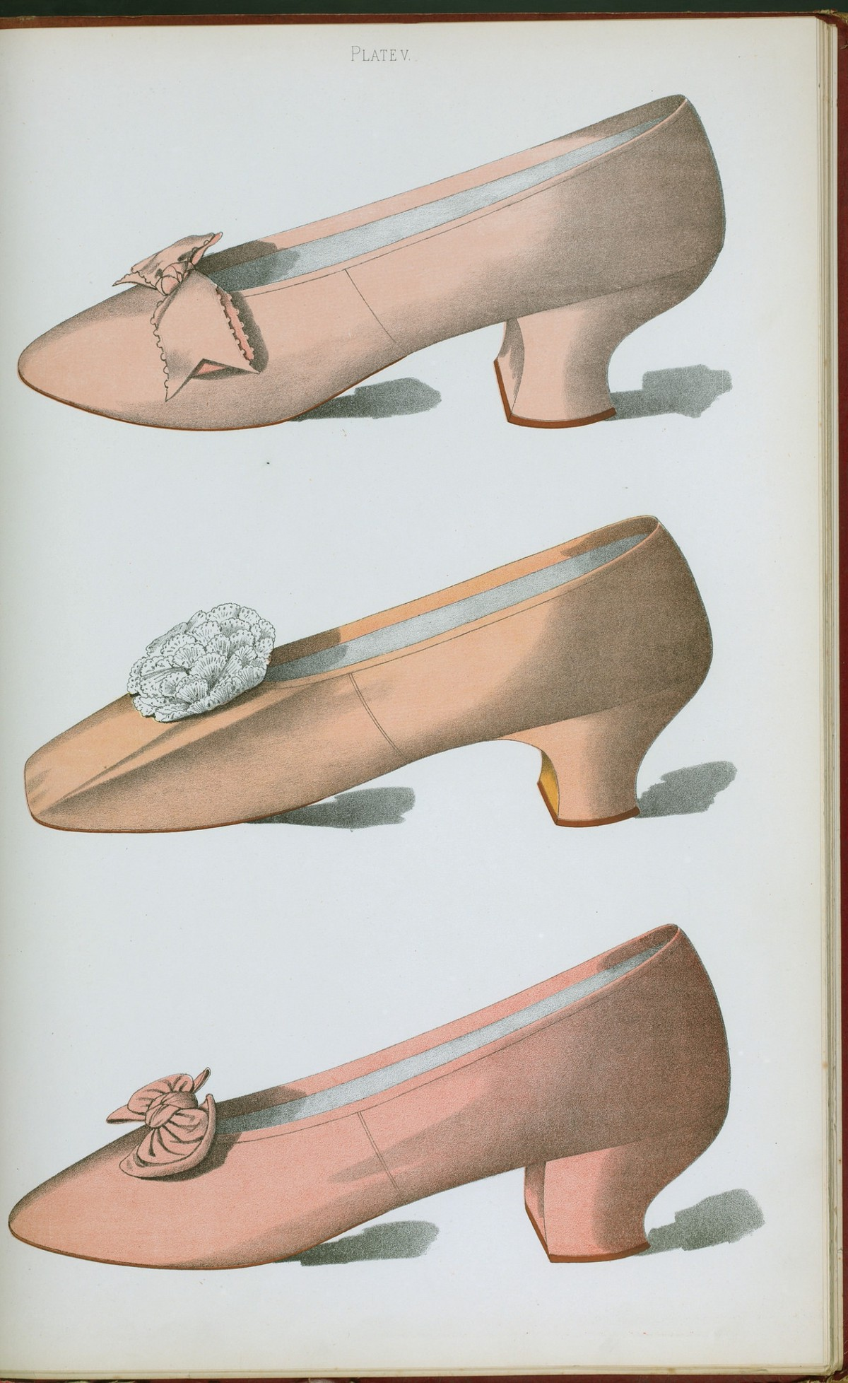 vintage high heel illustration from NYPL
