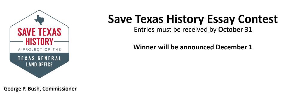 save texas history essay contest 2012 Save Texas History Essay Contest 2012 — 479544