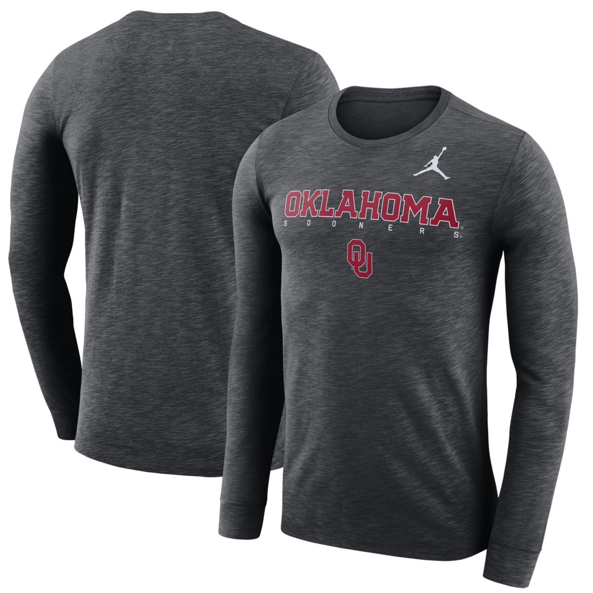 304395759f0fa3 Jordan Men s Oklahoma Sooners Dri-FIT Facility Long Sleeve T-Shirt