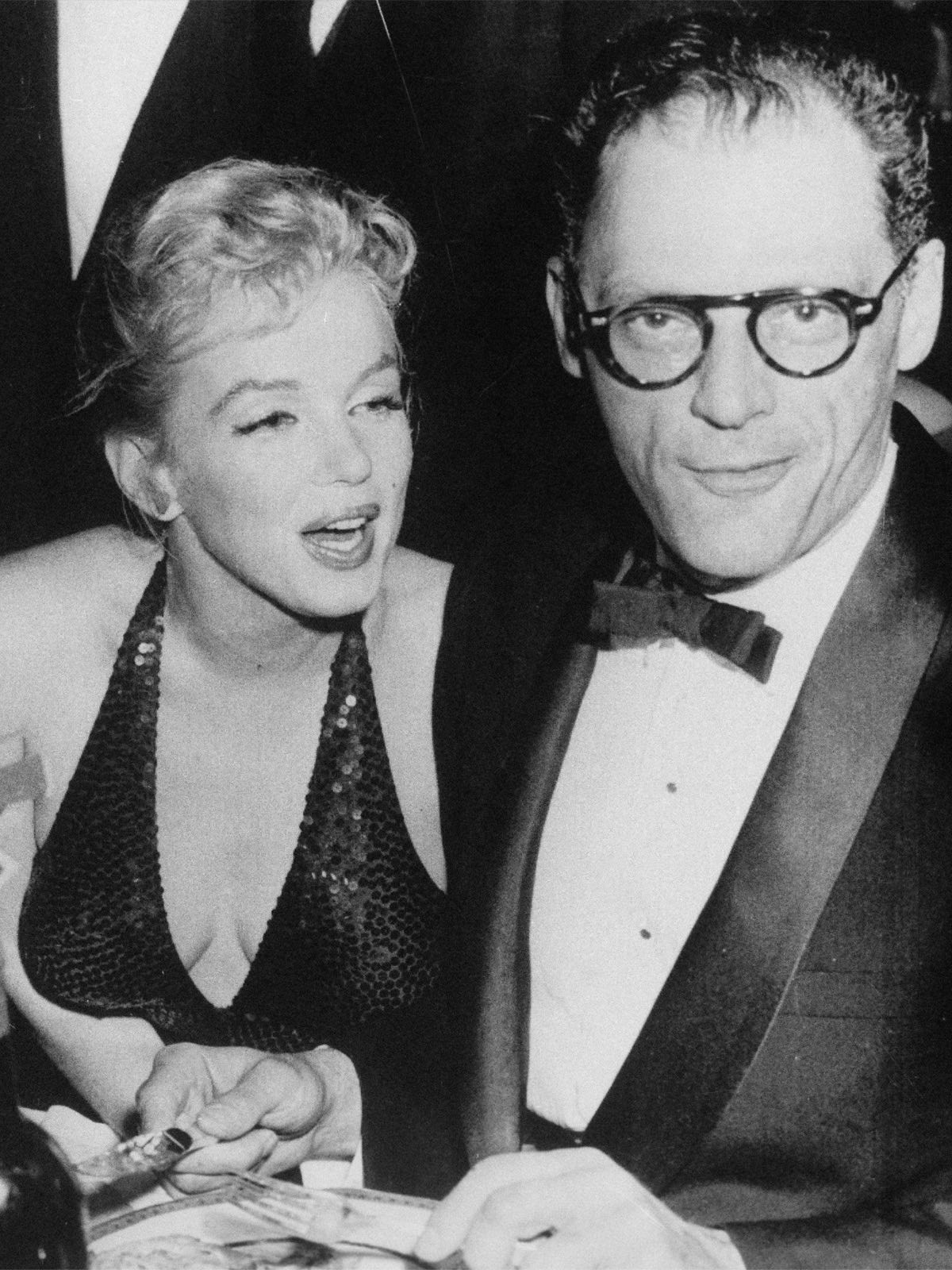 Monroe attempted suicide whilst married to playwright Arthur Miller