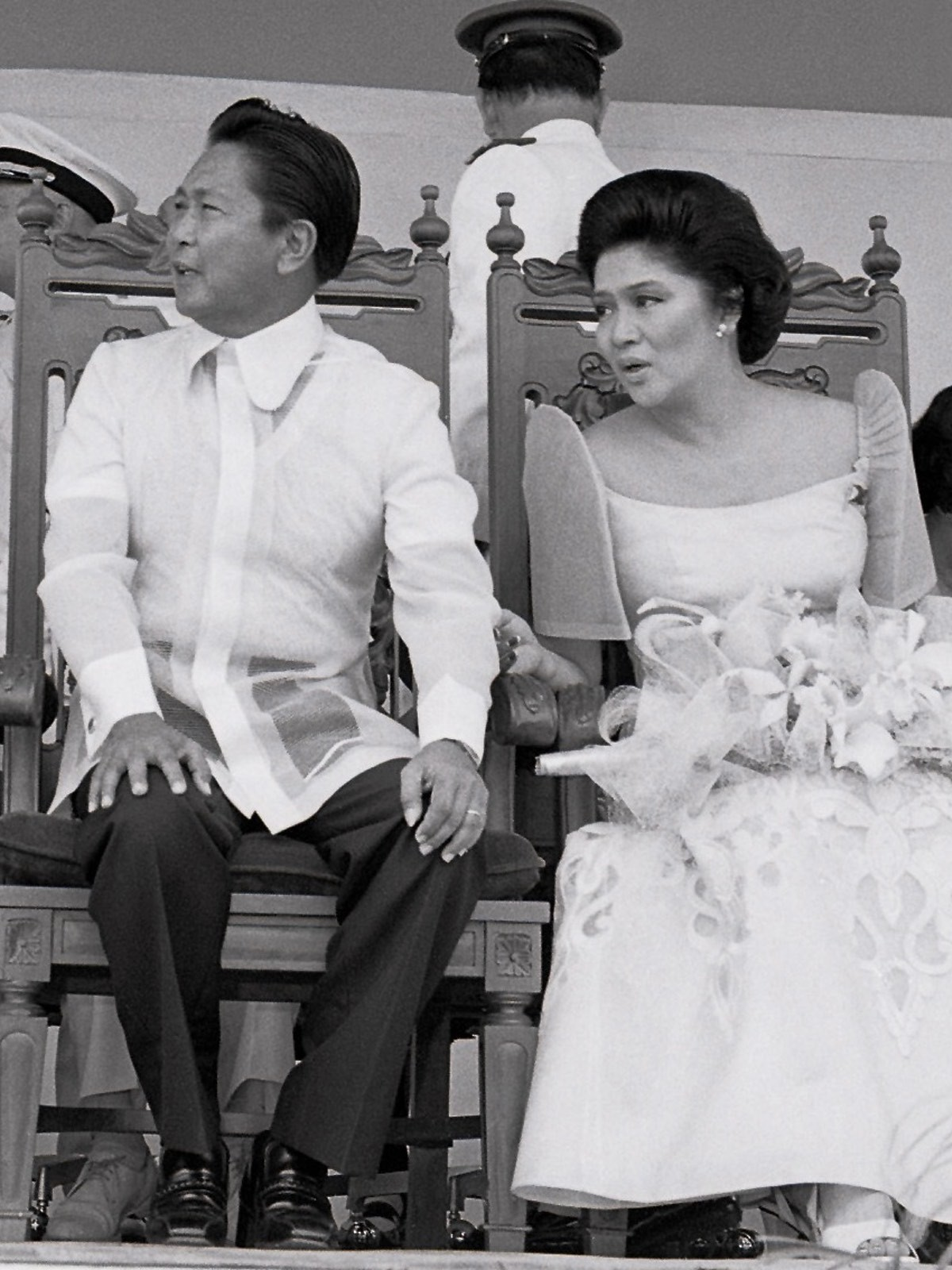 President Ferdinand Marcos and his wife Imelda were obsessed with gold