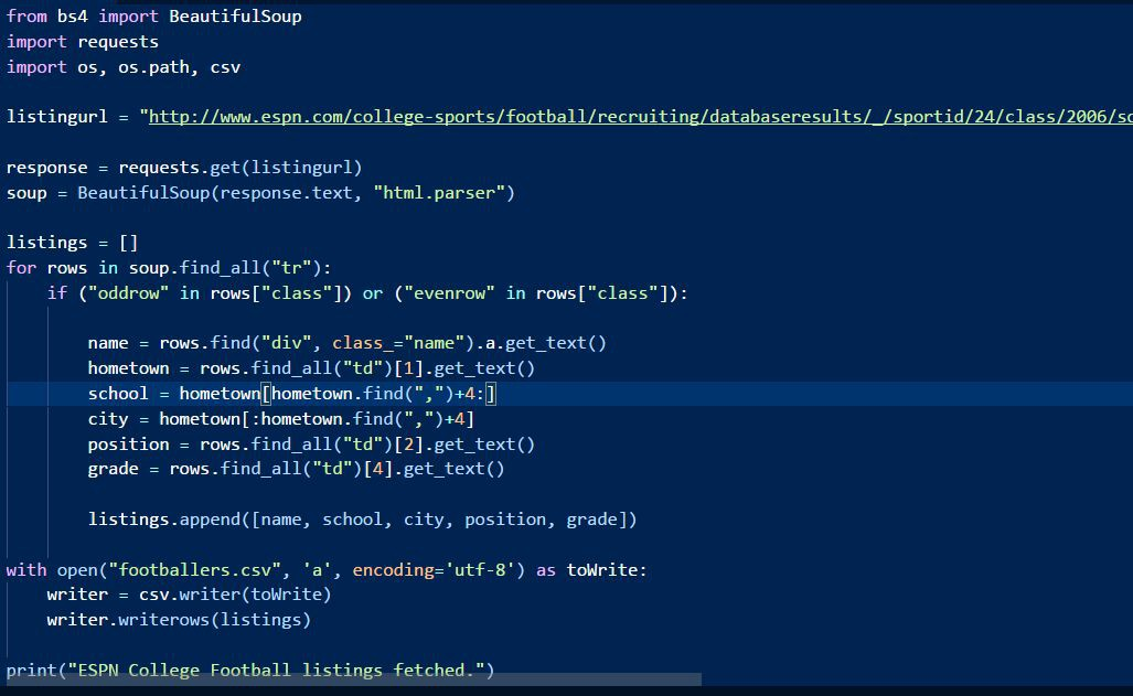 download file from webpage python
