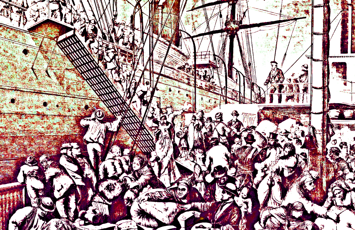 the impact of immigrants in the course of american history Understanding what works, and sharing knowledge about effective initiatives to  encourage entrepreneurship, will become increasingly important as immigrant.