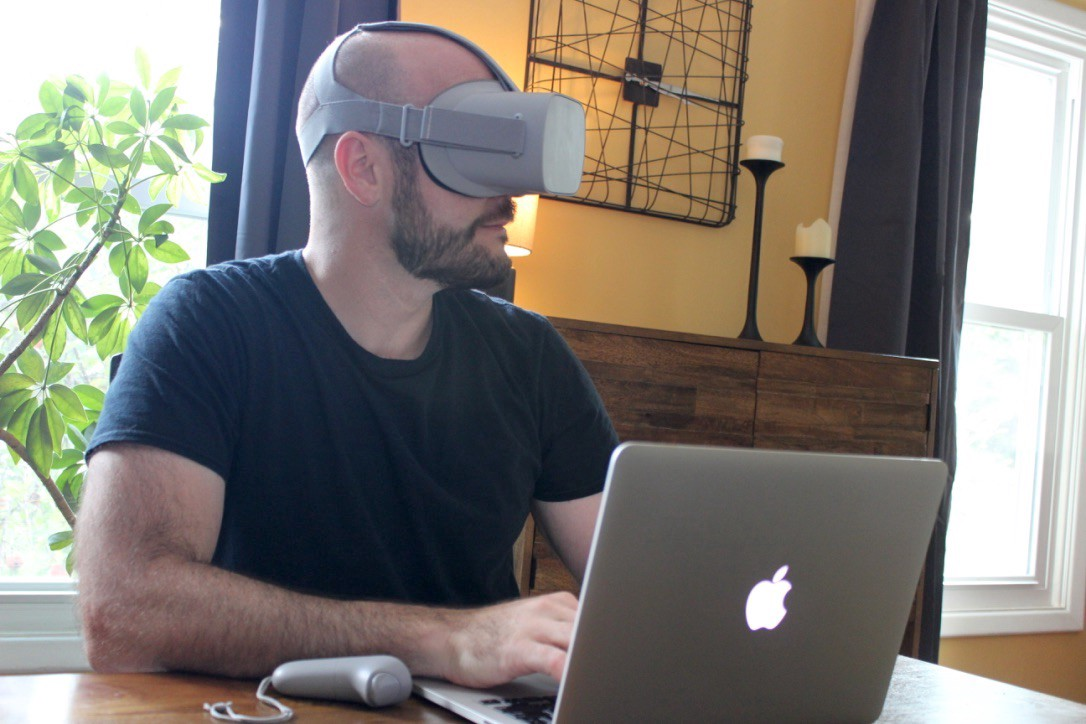 Working in VR 8+ hrs/day