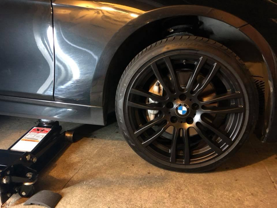 Howto Change Tires On A F30 Bmw 335 Moto Foto Medium