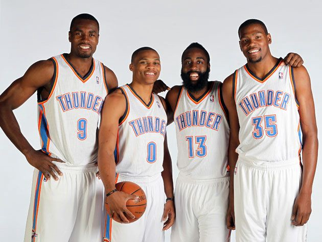 34ea762ecc53 How OKC s  Original  Big-Four Could Have Changed the NBA