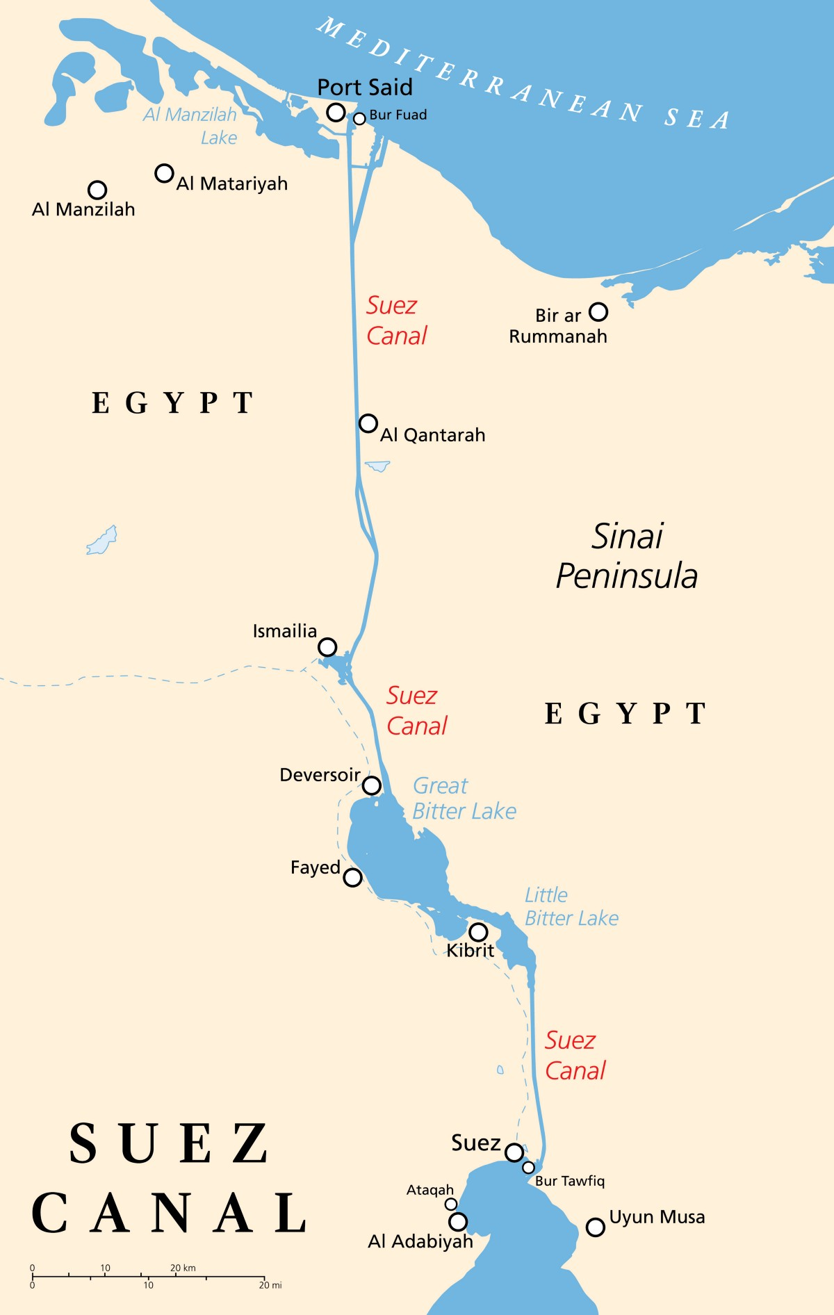 5 Questions You Never Knew You Had About the Suez Canal And their
