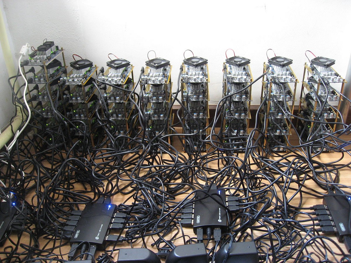 Bitcoin Mining Pictures