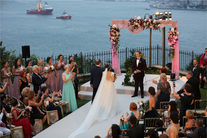 CTSO alumni Jake Pfeiffer's wedding in Istanbul