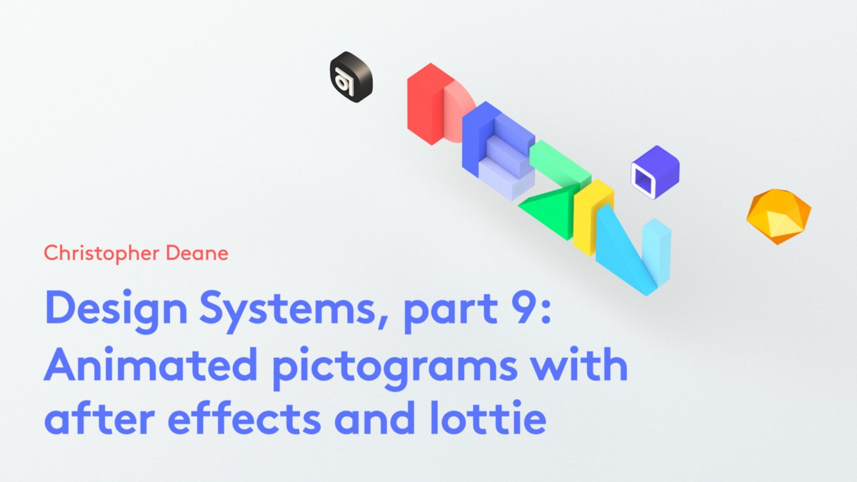 Design Systems, part 9: Animated pictograms with after
