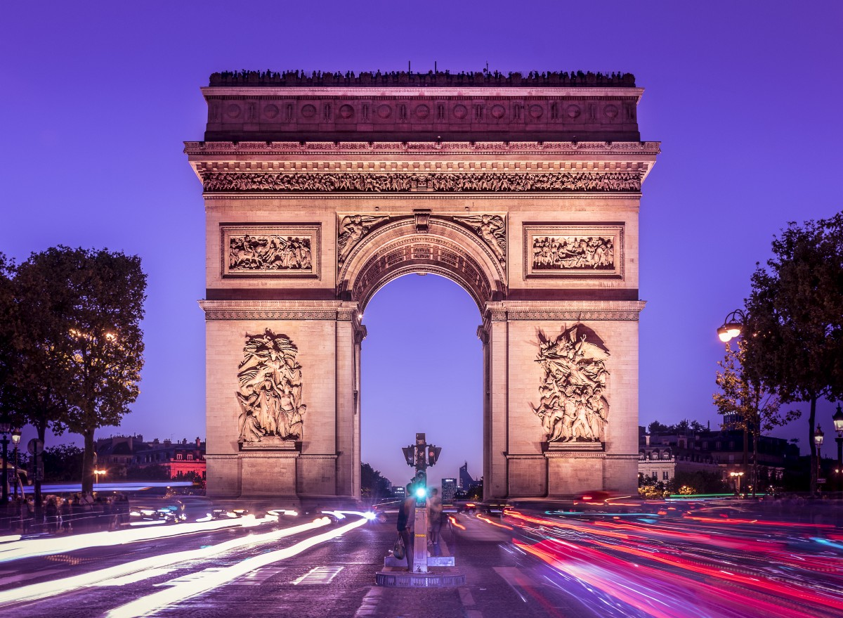how to photograph the arc de triomphe in paris france. Black Bedroom Furniture Sets. Home Design Ideas