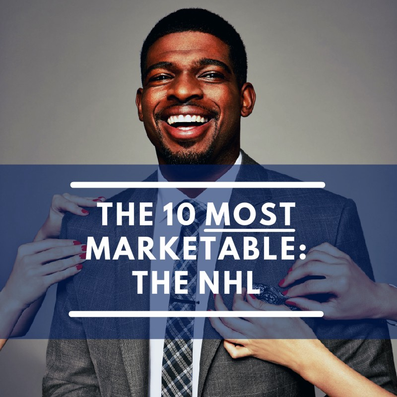 175c40fbe99 P.K. Subban stands alone as UNC s most marketable NHL athlete.