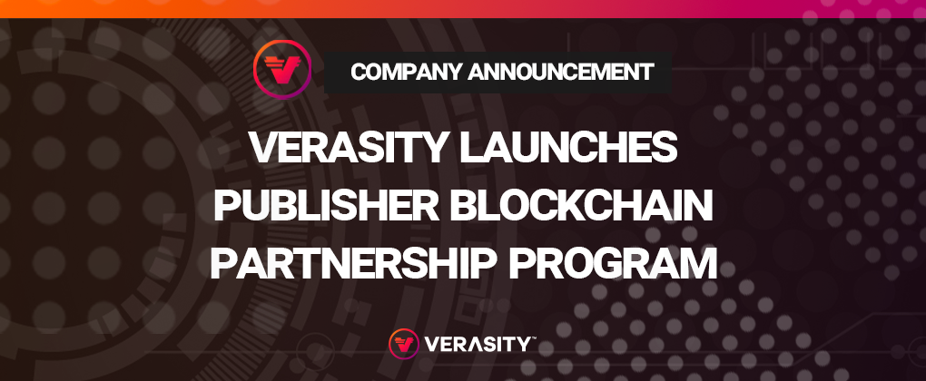 Verasity Is Designing A Toolbox To Support Video Creators Publishers And Broadcasters The Ability Benefit From Blockchain Enhanced Technology