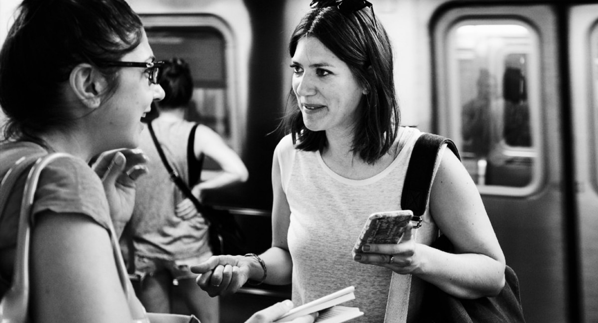 What I learned from talking to strangers about books on the New York City subway