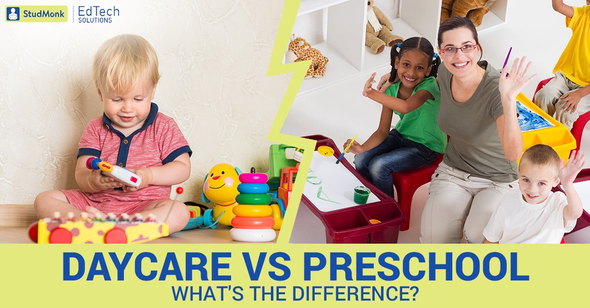 what is the difference between nursery school and preschool difference between childcare and preschool studmonk 450