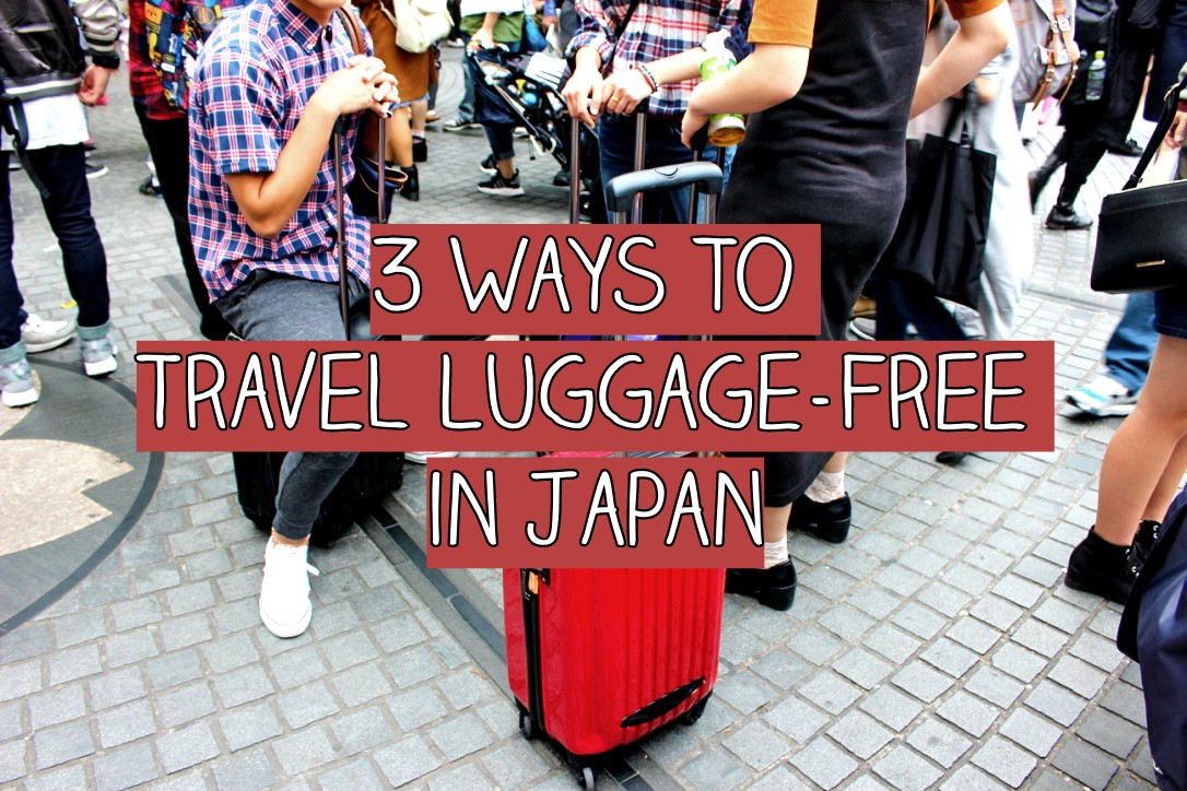 1b3ce7433e Carrying your huge luggage in Japan will be tiring and stressful. Here are  hands-free travel tips in Japan using station lockers and mail services  from ...