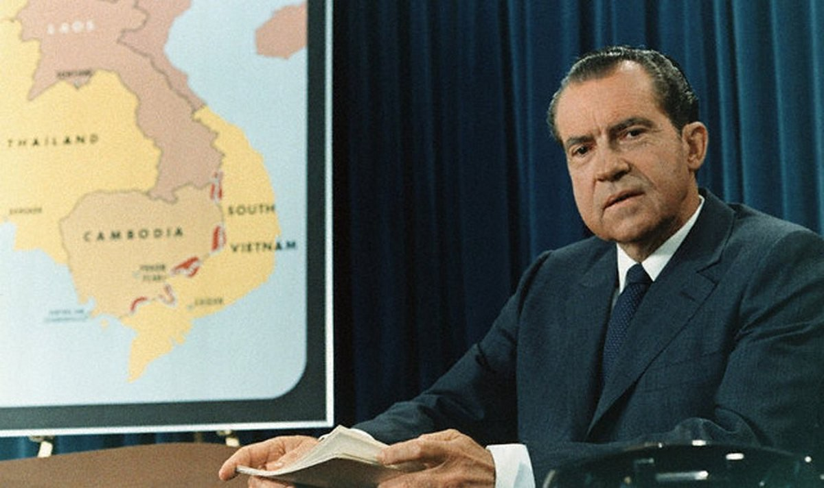 the controversy over president richard nixons launch of full scale attack in cambodia For over twenty years, working on myriad issues concerning the federal government, most related to the cold war he has edited major documentary editions on arms control and science issues during the johnson, nixon, and ford.