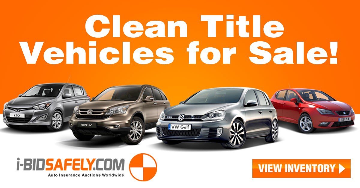 Looking for clean title ELV\'s? Visit Ibidsafely.com