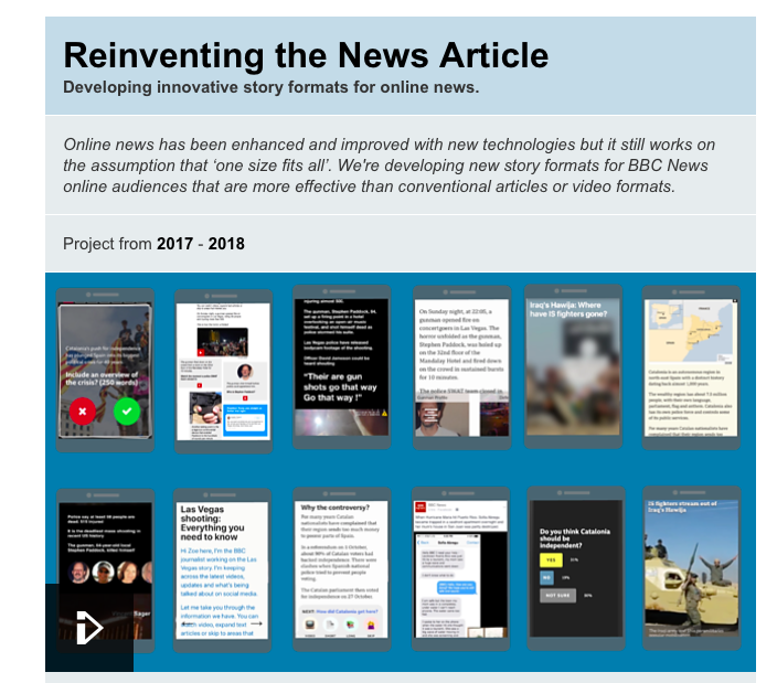 BBC & The New York Times — where the R&Ds meet the news