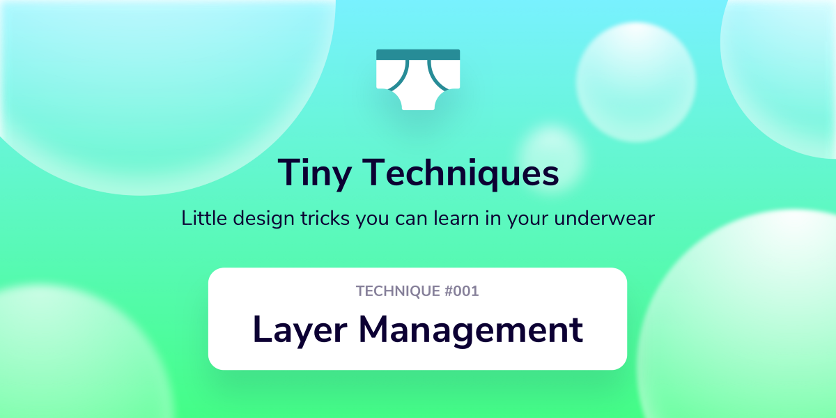 7 Techniques for Better, Faster Layer Management in Sketch