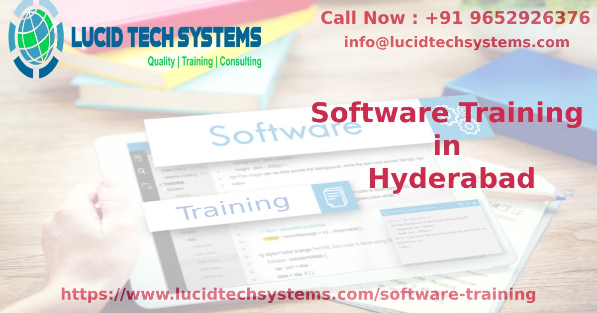 Best software training institute Hyderabad | Best software courses