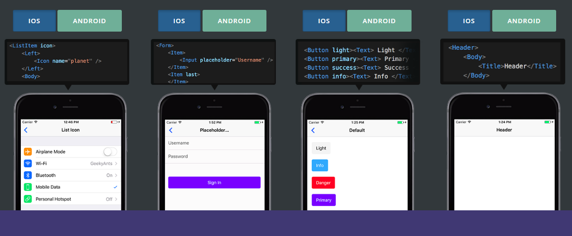 free react native ui kits