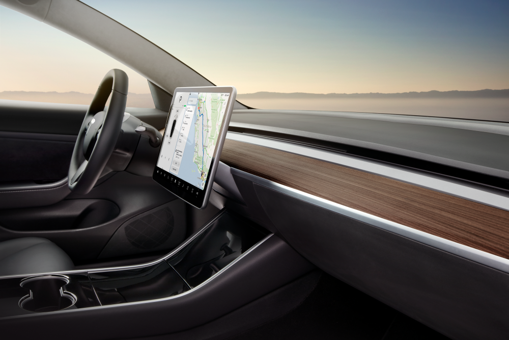 A Tesla Model 3 S Interior Design Is Doomed To Fail