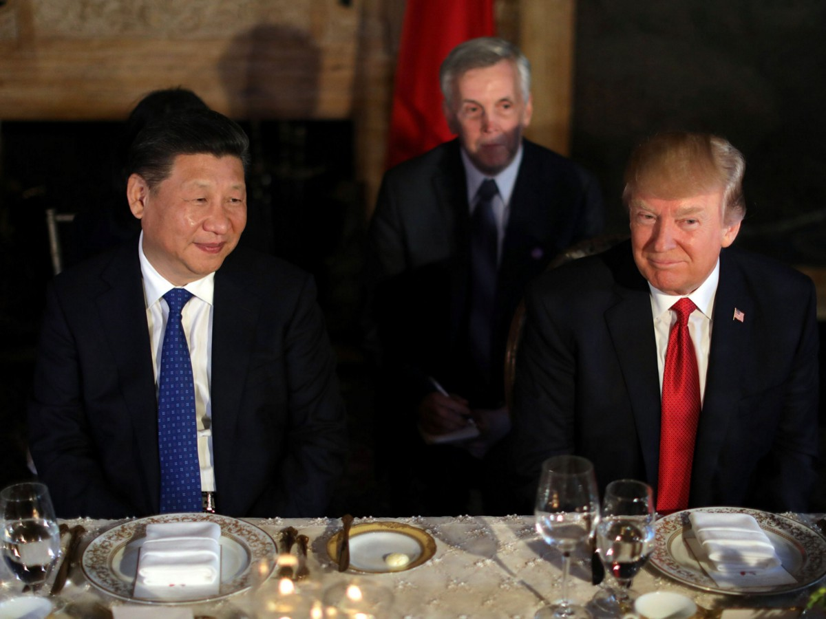 Trump Takes Steps To Avoid Vomiting On Other World Leaders George