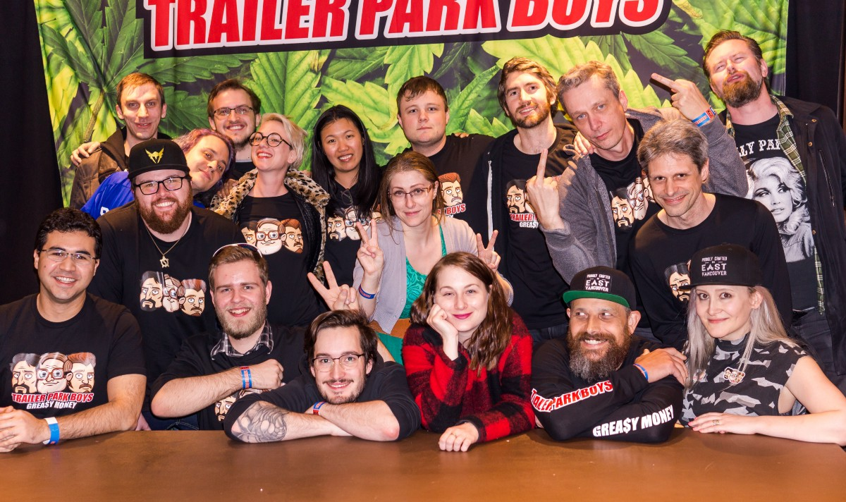 A fked up evening with the trailer park boys east side games it was fantastic to meet with these wonderful people whove helped with many trailer park games before kristyandbryce Gallery