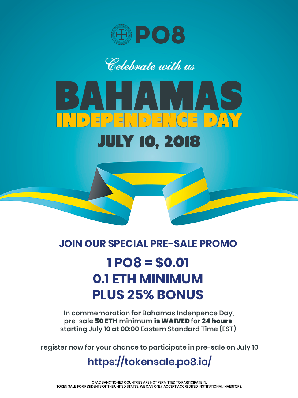 6d93e82c46e57 Bahamas Independence Day PO8 Pre-Sale Promo. Don t miss out!