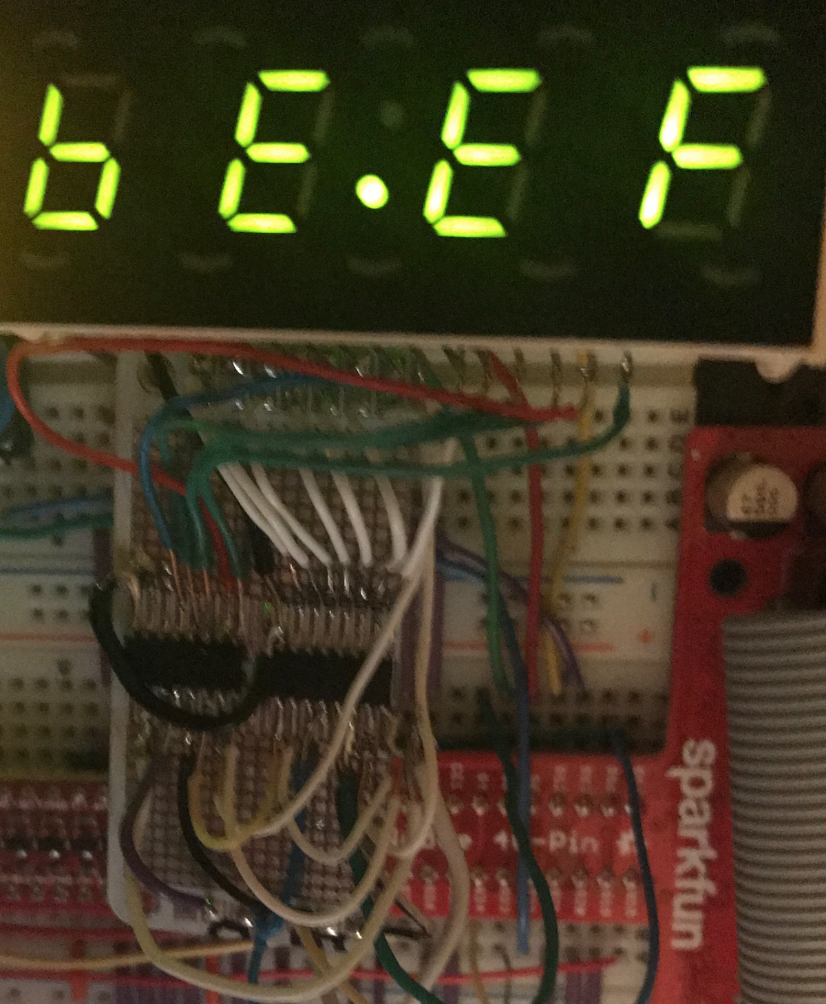 4x7 Segment Led Display As A Digital Clock Using Two 74hct595 8 Bit The 4digit 7segment Driver Circuit We Will Build Shift Registers
