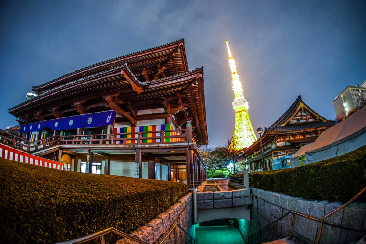 Where Is The Best Place To See Tokyo Tower Japan