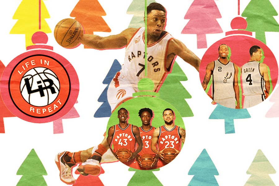 will the raptors finally get a christmas day game life in repeat - Green Day Christmas