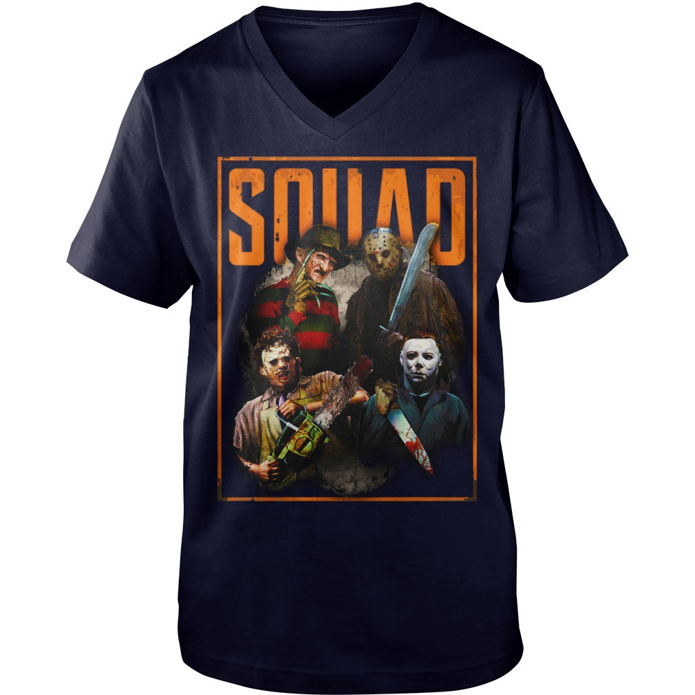 hot — the nightmare ends on halloween squad shirt more version