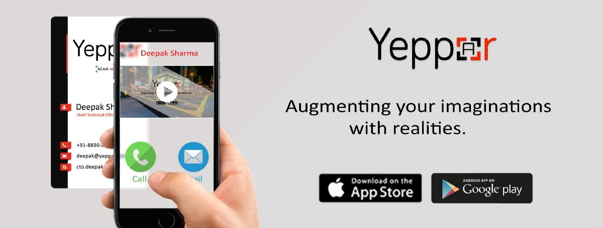 Augmented reality business card: Make an easy reach to your business