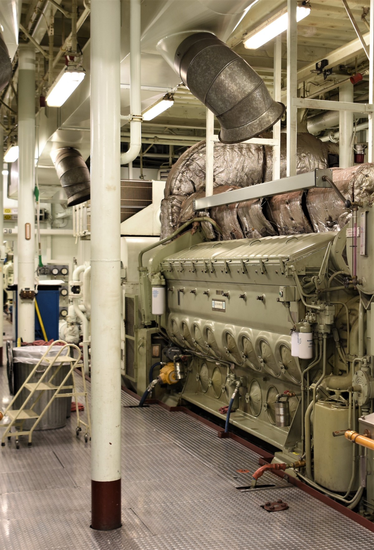 The Engine Room From Way Back: Washington State, Norway Compare Notes On Electric Ferries