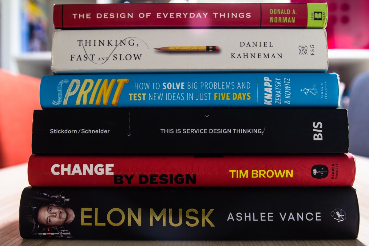 Reading list: sharing my favorite design books